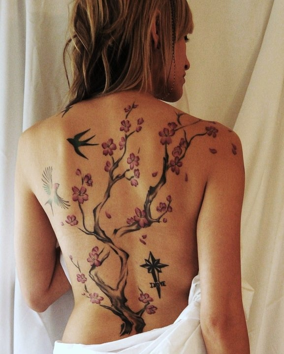 best back tattoo Ive ever seen... Id trade mine for that in a heartbeat hahaha