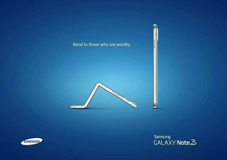 Clever move from Samsung.