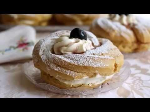 Oggi vi regalo la mia ricetta super collaudata per preparare le zeppole di San Giuseppe al forno e farcite con una crema specialissima e golosissima.