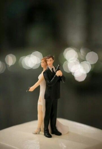 Michael and I both want this cake topper :)