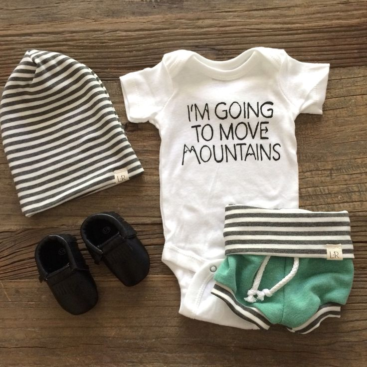 https://www.etsy.com/listing/219607925/im-going-to-move-mountains-baby-onesie Going home outfit for newborn baby.