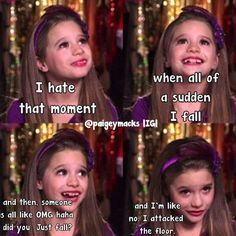 No, I just attacked the floor... | «me»<3 | Pinterest | Dance Moms, Dance and Funny