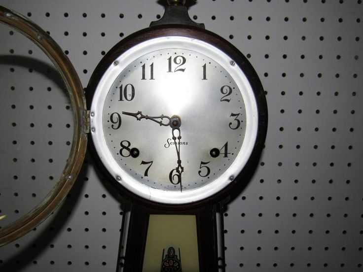 Sessions Wall Clock George Washington - 2