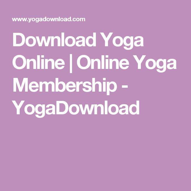 Download Yoga Online | Online Yoga Membership - YogaDownload