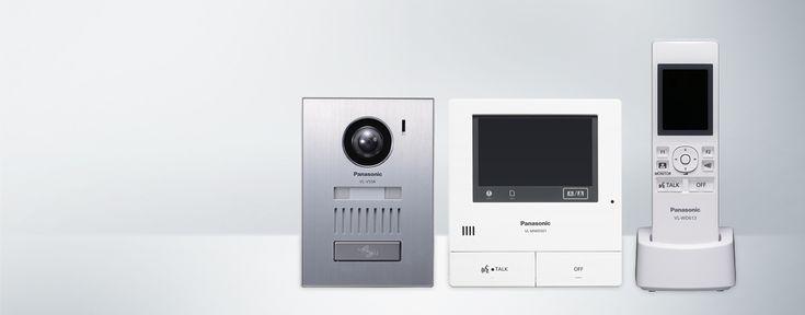 Système d'interphone vidéo sans fil - VL-SWD501