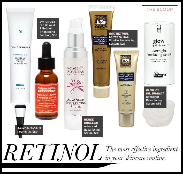 The Scoop: Retinol - Celebrity Style and Fashion from @WhoWhatWear @dgskincare Ferulic Acid & Retinol Brightening Solution