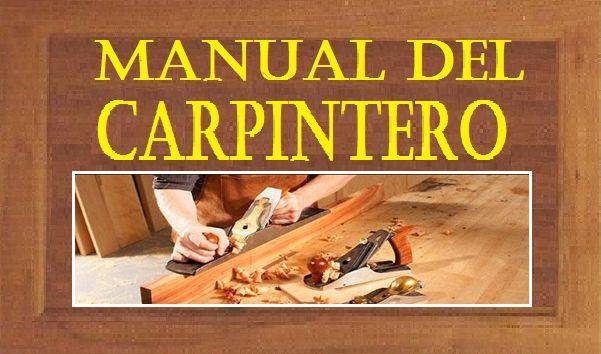 El manual del carpintero y ebanista está dirigido para todos lo carpinteros que deseen conocer mas acerca de la carpintería, en el texto se podrá encontrar .
