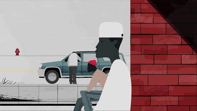"I designed and animated this piece as an homage to my favorite show of all time, HBO's The Wire. Music: ""Way Down in the Hole"" /  The Blind Boys of Alabama."