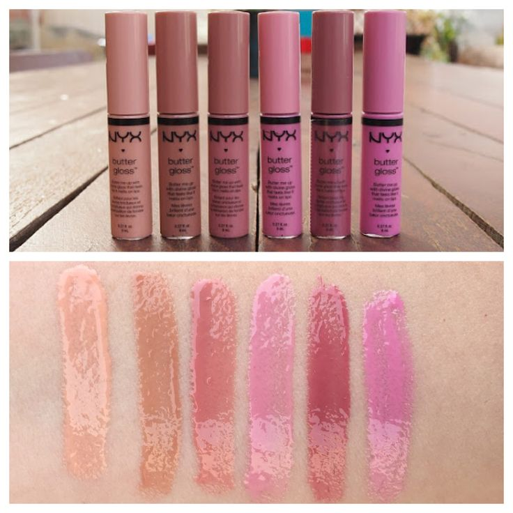 Fortune Cookie | Madeline | Tiramisu | Eclair | Angel Food Cake  : NYX Butter Gloss Review and Swatches 2.0 (Updated)