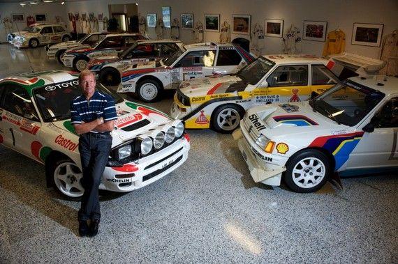 Photos: WRC World Champion Juha Kankkunen's Car Collection