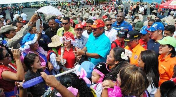 Gobierno Nacional inicia Carnavales   con casi cuatrocientos mil funcionarios de seguridad