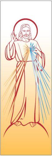 Banner Herz Jesu 7144 (groß)