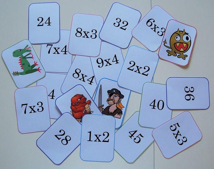 Les 25 meilleures id es concernant tables de - Jeu sur les tables de multiplication ...