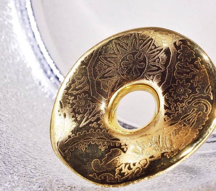 """RING  """"SIMPLE GOLD"""" made by ZEMA"""