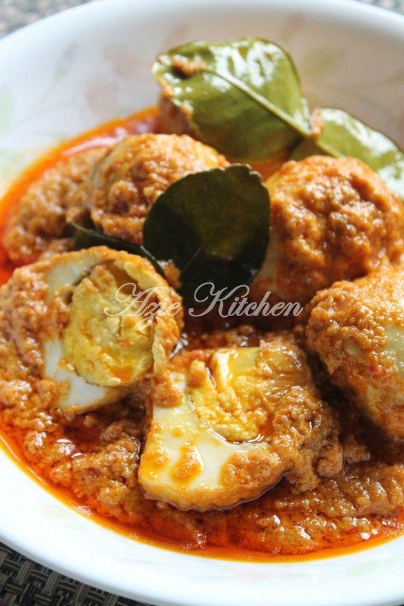 Azie Kitchen: Rendang Telur Padang Sedap