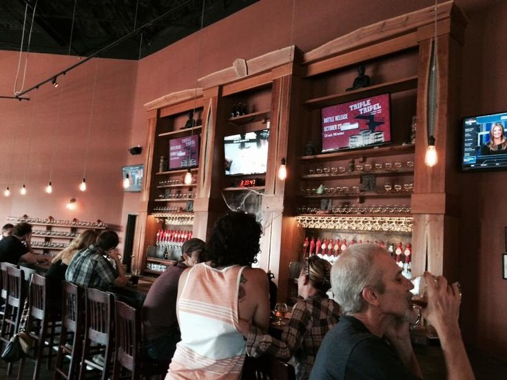 Tasting Room at Funky Buddha Brewery in Oakland Park, Florida. Visited on October 30, 2014.