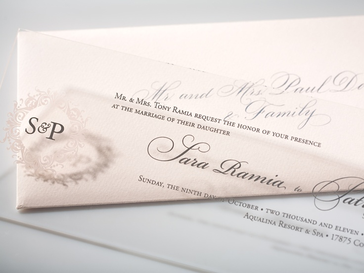 Clear Wedding Invitations: 17 Best Images About Acrylic & Plastic Invitations On