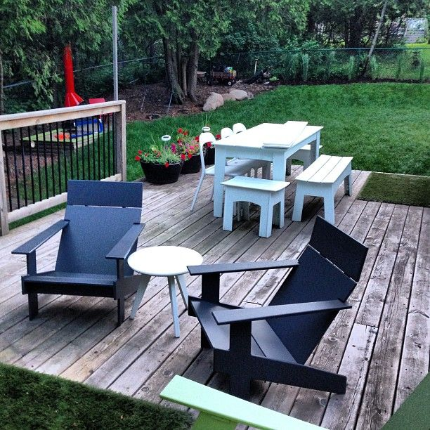 Loll Designs modern outdoor furniture on patio deck  Made in the USA from  recycle plastic. 102 best Loll Designs Spotted images on Pinterest