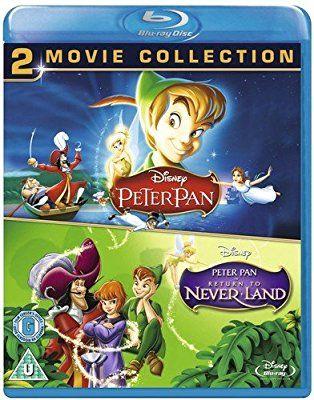 Amazoncom Peter Pan 1 2 Blu Ray Region Free Uk Import