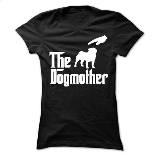 The Dogmother Pug - #sweater #designer hoodies. I WANT THIS => https://www.sunfrog.com/Pets/The-Dogmother-Pug-Ladies.html?60505