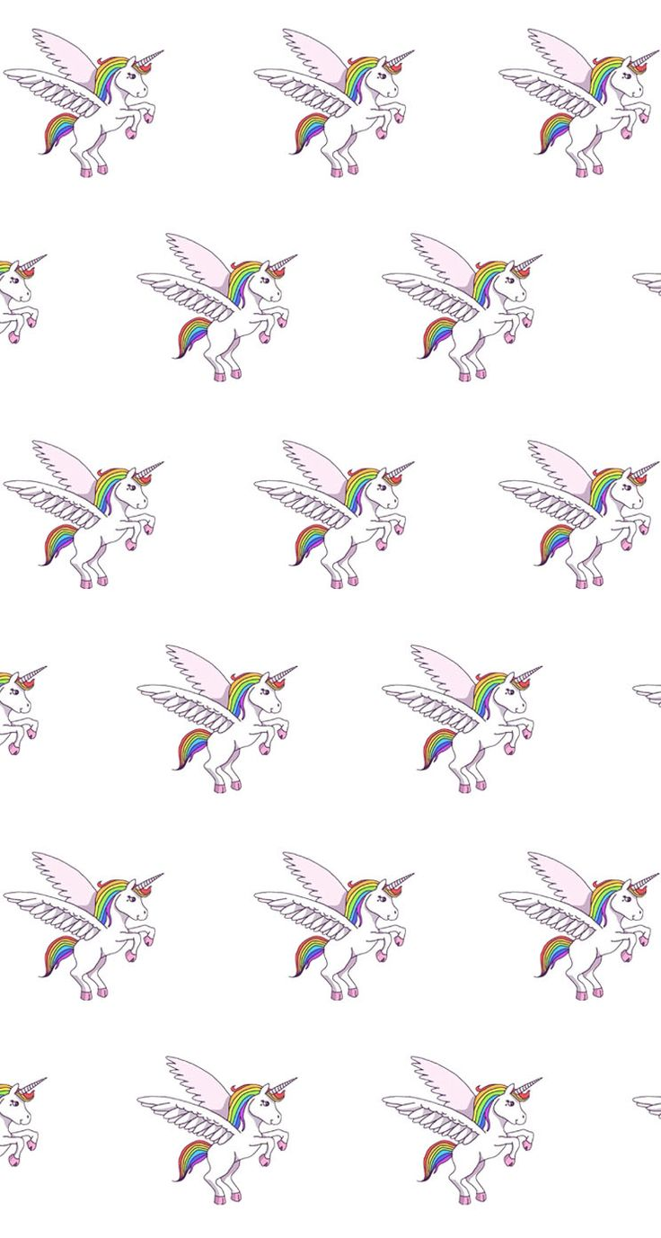 Wallpaper iphone tumblr unicorn - Unicorn Pattern Find More Kawaii Iphone Android Wallpapers And Backgrounds