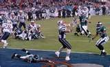 Super Bowl XXXIX  New England Patriots  24  Philadelphia Eagles  21  Feb. 6, 2005  Alltel Stadium  Jacksonville, Florida  MVP: Deion Branch, WR, New England