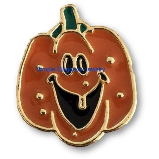 #3061 Metal Pumpkin Snap 20mm for Snap Jewelry