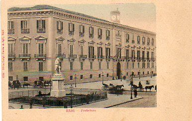 Bari - Prefecture building in Vittorio Emanuele corso