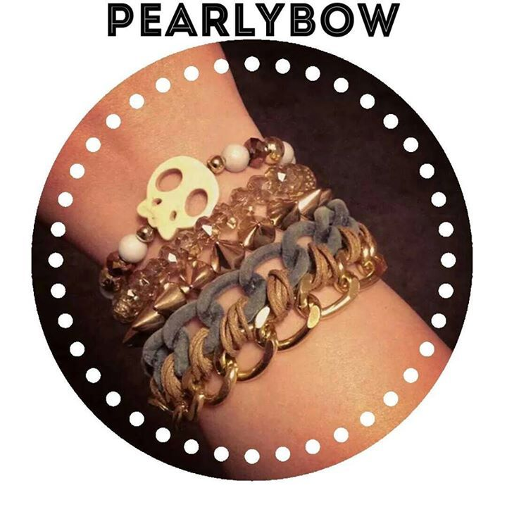 pearlybow, bracelets, handmade, bracelet, skulls