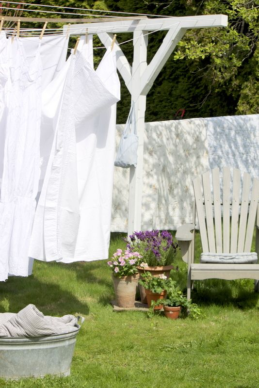Clothes Drying On A Clothesline ~ Best images about clothesline laundry cart on
