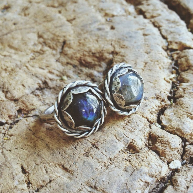 Labradorite and silver - kanti Jewelry