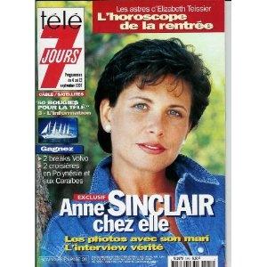 Télé 7 jours (n°1945) du 06/09/1997 - Anne Sinclair - ... [Magazine mis en vente par Presse-Mémoire]