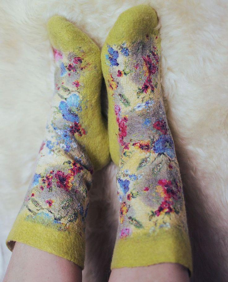 валяные носки