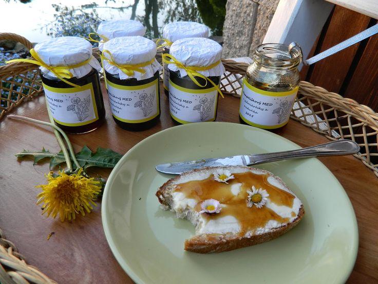 Tvoření od IVETULE: Pampeliškový med vytuněný - recept