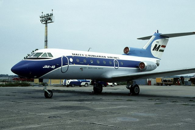 Yak-40: HA-YLR Malev Flight Inspection Service Budapest Ferihegy Airport | Flickr - Photo Sharing!