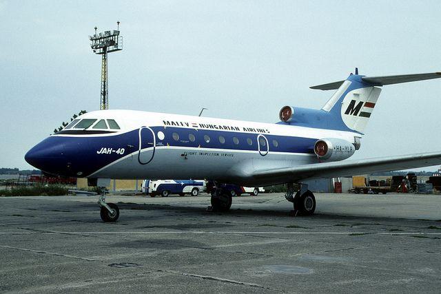 Yak-40: HA-YLR Malev Flight Inspection Service Budapest Ferihegy Airport | Flickr - Photo Sharing!