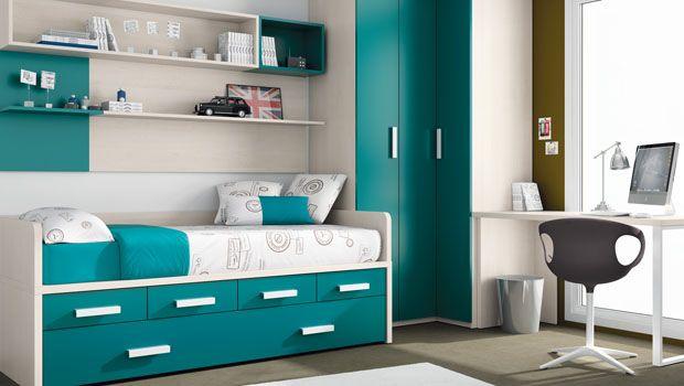 decoracin e ideas para mi hogar dormitorios juveniles color turquesa recamaras pinterest colores para juveniles habitacin juvenil y