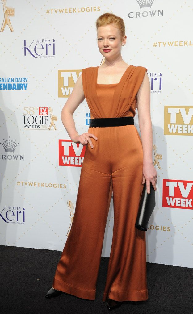 Sarah Snook | Here's What Everyone Wore To The 2016 Logies