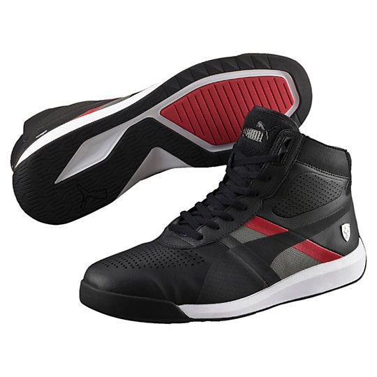 PUMA FERRARI PODIO MID MEN'S SHOES $110