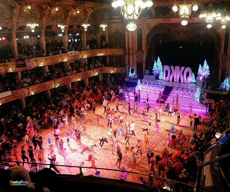Disco kid competition, Blackpool