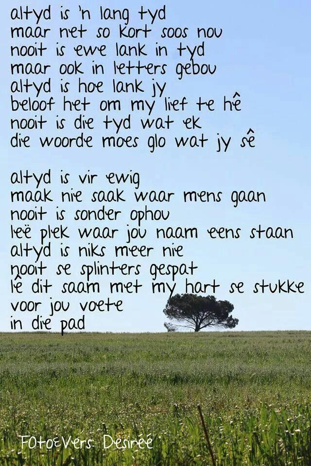 Altyd... #Afrikaans #words@play