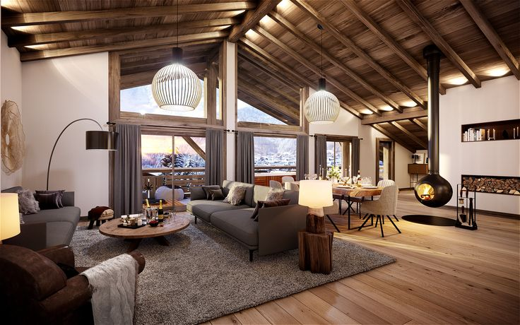 15 Zoom Meeting Backgrounds To Escape To Life In 3d Area By Autodesk In 2021 Calming Interiors Classic House Home Deco