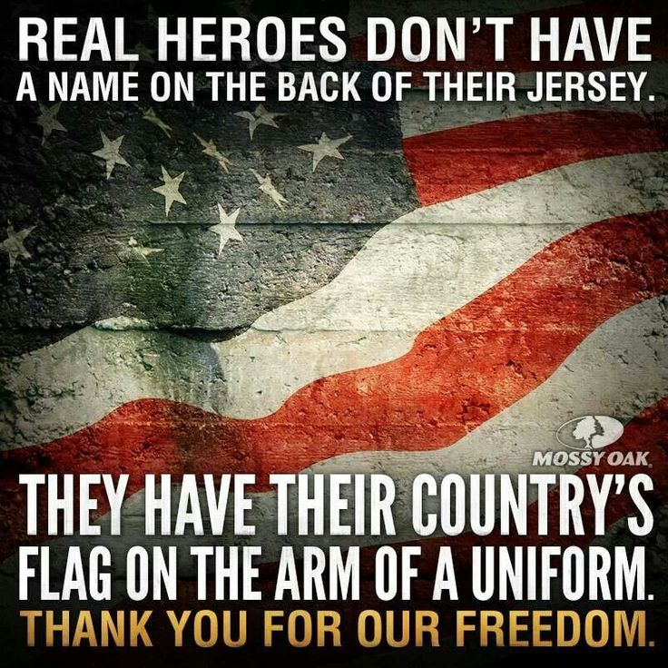 Real Heroes - Thank you for our freedom