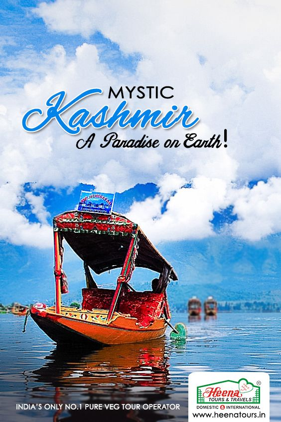 Cradled in the lap of majestic mountains of the Himalayas, Kashmir is the most beautiful place on earth. The state of Jammu and Kashmir is rightly called 'Paradise'.