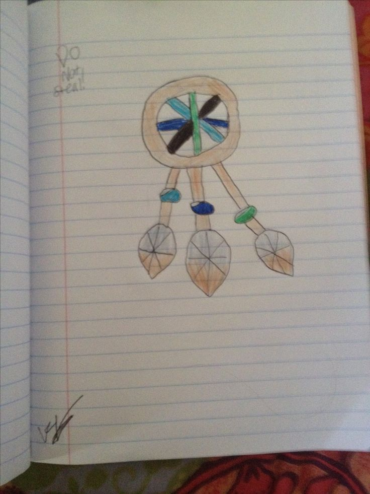 Dream catcher drawing, DO NOT STEAL ( mine)