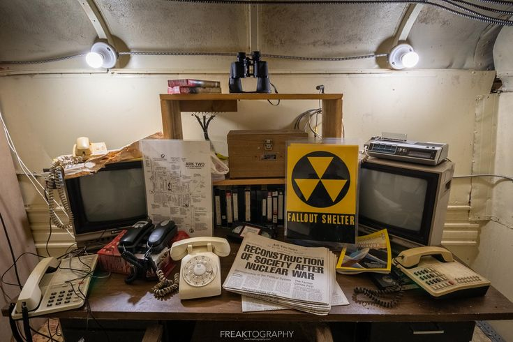 The control centre of the Ark Two Nuclear Shelter 14