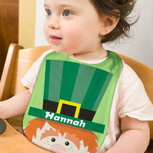 153 best irish gifts images on pinterest gift basket gift baskets personalized leprchaun baby bib negle