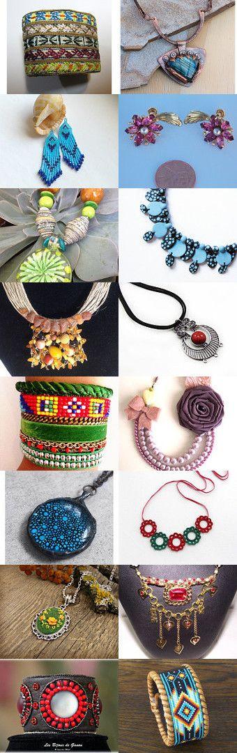 jewerly-bracelets by Fatma Şişmanlar on Etsy--Pinned with TreasuryPin.com
