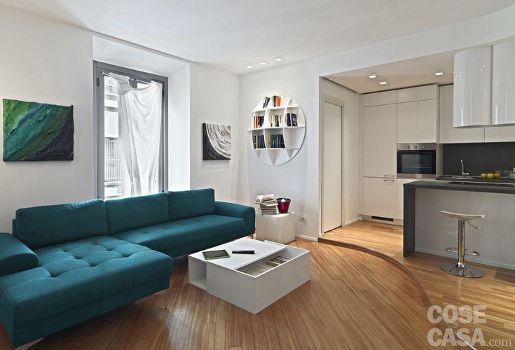 Din garsonieră în apartament de două camere | Jurnal de design interior