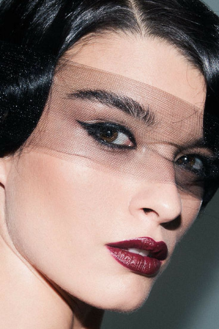 Dita Von Teese inspired makeup